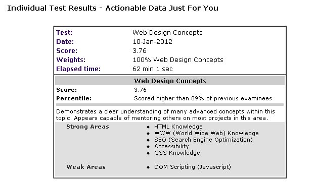 WebDesignConceptsCertification-TestResult