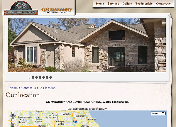 GS MASONRY AND CONSTRUCTION INC.   Worth, Illinois 6048